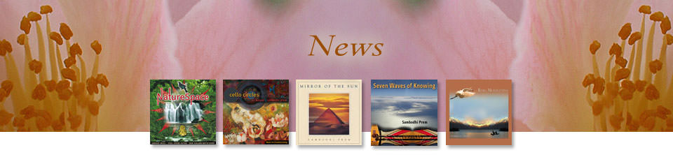 Music and meditation CDs